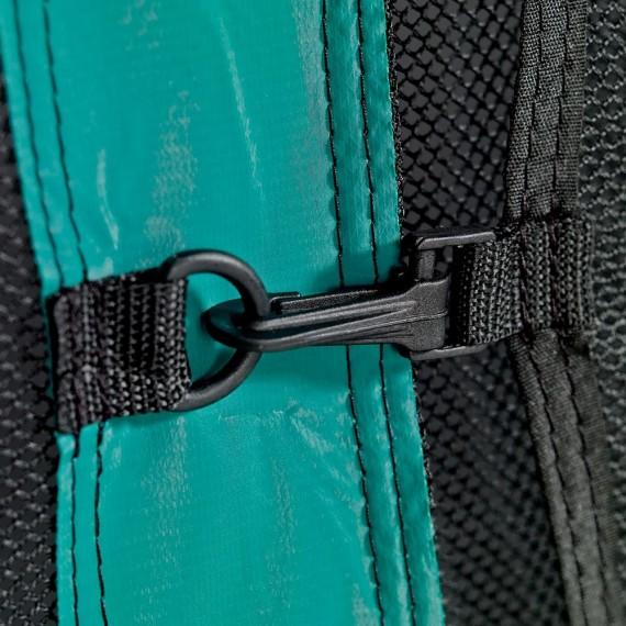 Cierre de la red de protección de la cama elástica Ovalie 430