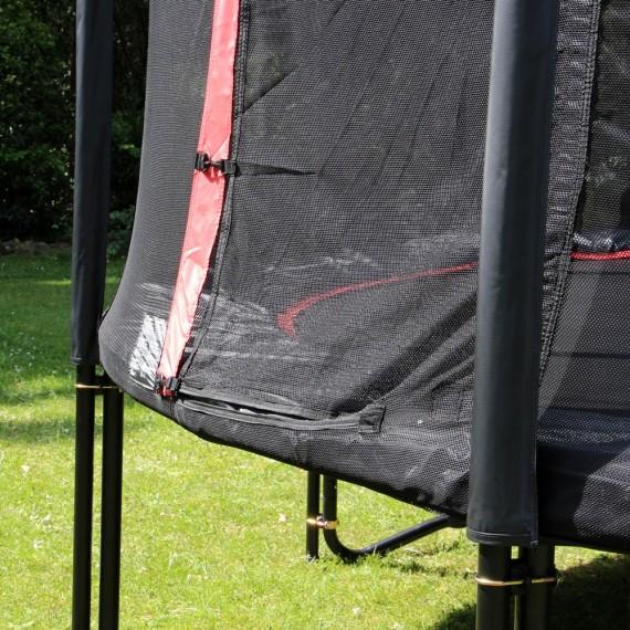 Cama elástica Booster 490 con red de protección