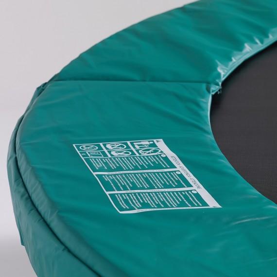Cojín de protección cama elástica Jump'up 390