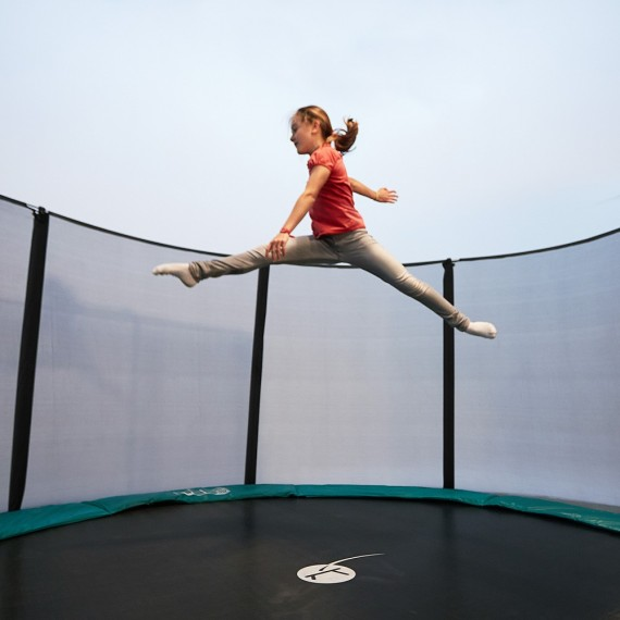 Cama elástica Jump'Up 460 con red de protección