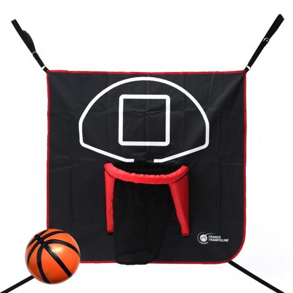 Canasta de baloncesto FUN para cama elástica