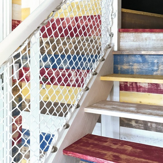 Barandilla para escalera exterior