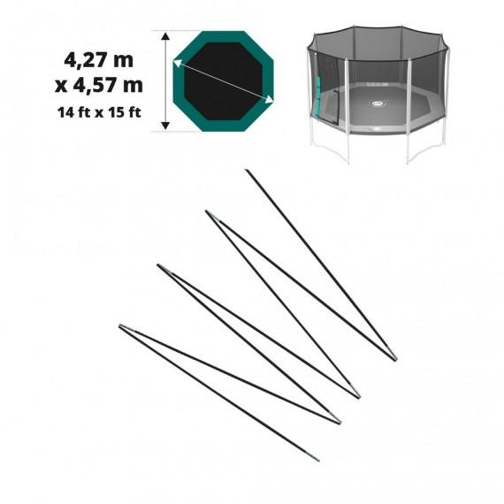 Arc en fibre de verre pour filet Waouuh 460