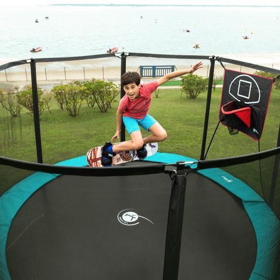 Cama elástica Jump'Up 390 con red de proteccion