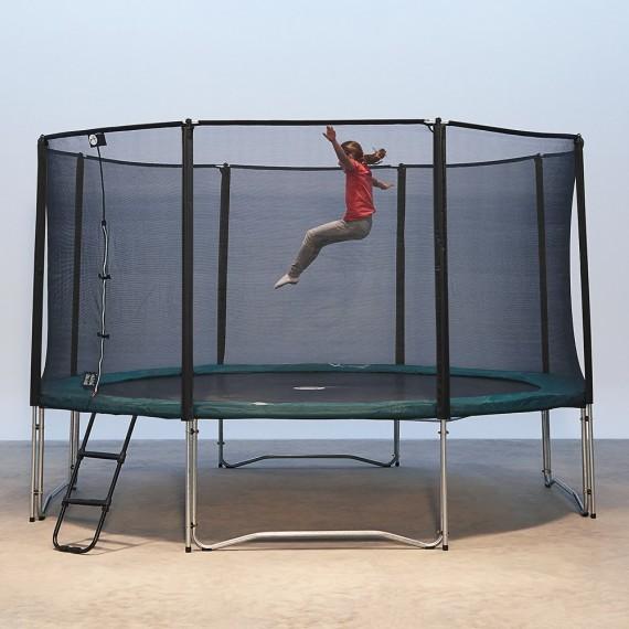 Cama elástica Jump'Up 430 con red de protección