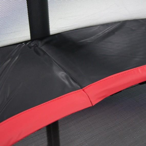 Cama elástica Booster Black 430 con red Premium