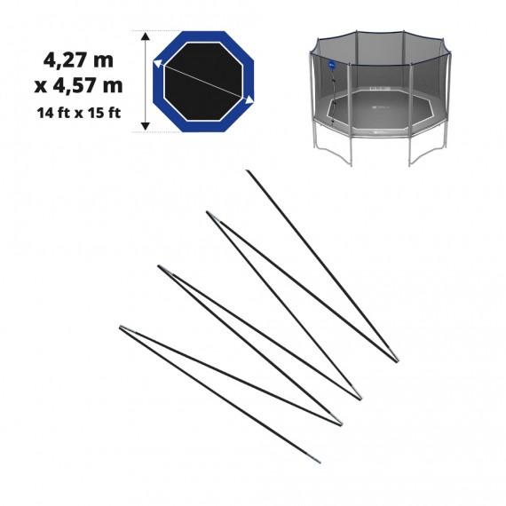 Juego de arcos de fibra de vidrio para Octopulse 460 - red de Ø12mm
