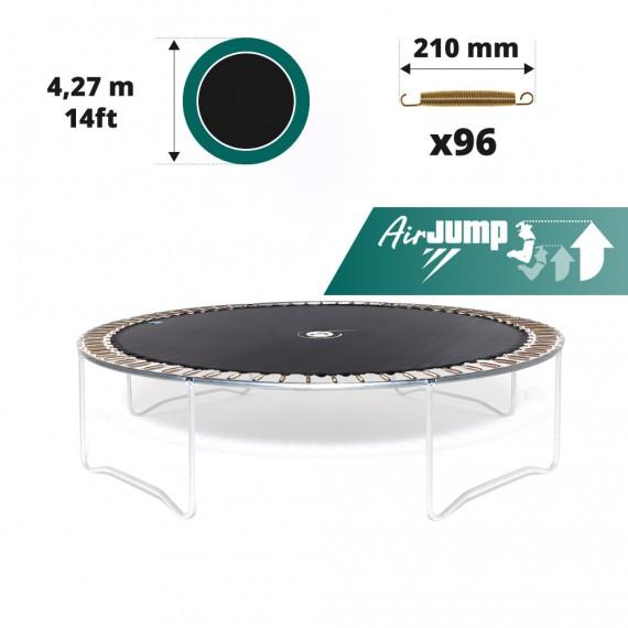 Tela de salto para cama elástica Ø 427 con 96 muelles 210 mm