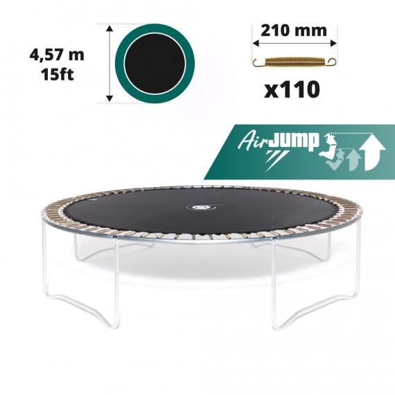 Tela de salto para cama elástica Ø 457 con 110 muelles 210 mm