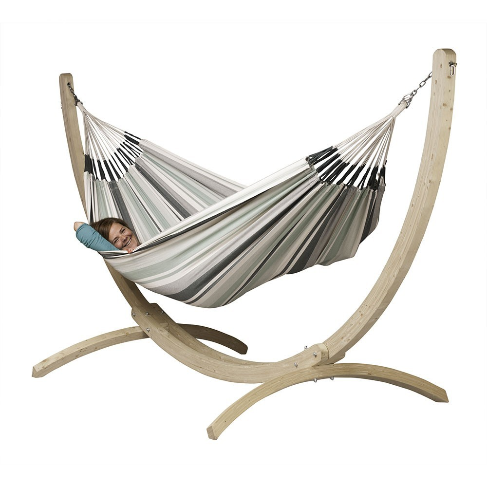 soporte para hamaca simple canoa