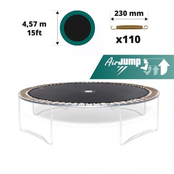 Tela de salto para cama elástica Ø 457 con 110 muelles 230 mm