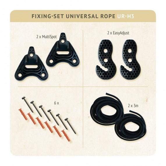 Kit de fijación para hamaca Universal Rope