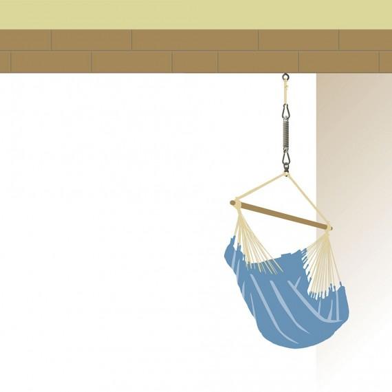 Set de fijación para hamaca Seguro Confort