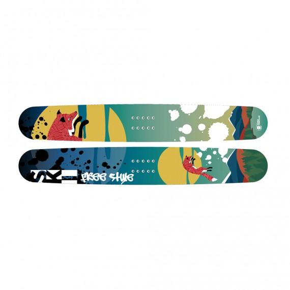 Esquíes freestyle pro