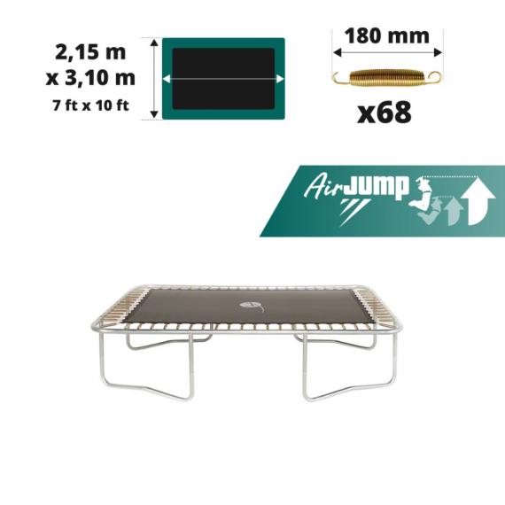 Tela de salto AirJump para cama elástica Apollo Sport 300 para 68 muelles 180 mm