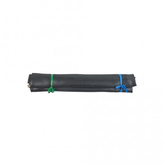 Tela de salto para cama elástica 430 con 96 muelles plateados 230 mm