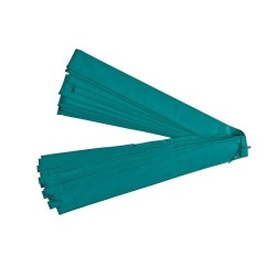 Manguito verde Ø38 mm para red con arco en fibra de vidrio P14