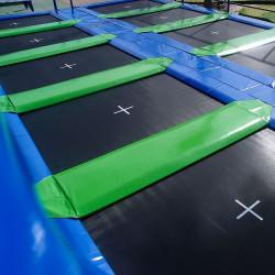Batería de camas elásticas AERO 365