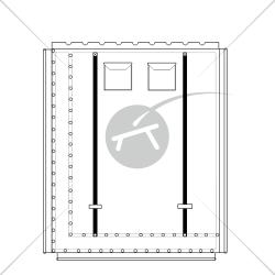 Trampolín para catamarán Prindle 19 (1 pieza)