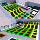 Módulos para trampoline park