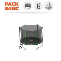 Pack Básico de Cama Elástica Access 250 con Red + Escalera + Kit de anclaje