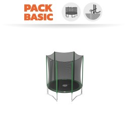 Pack Basic Cama Elásticas Access 180 con red + kit de anclaje