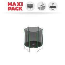 Maxi Pack Cama elástica Access 180 con red + Kit de anclaje + Funda