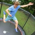 Cama elástica Booster 360 con red de protección