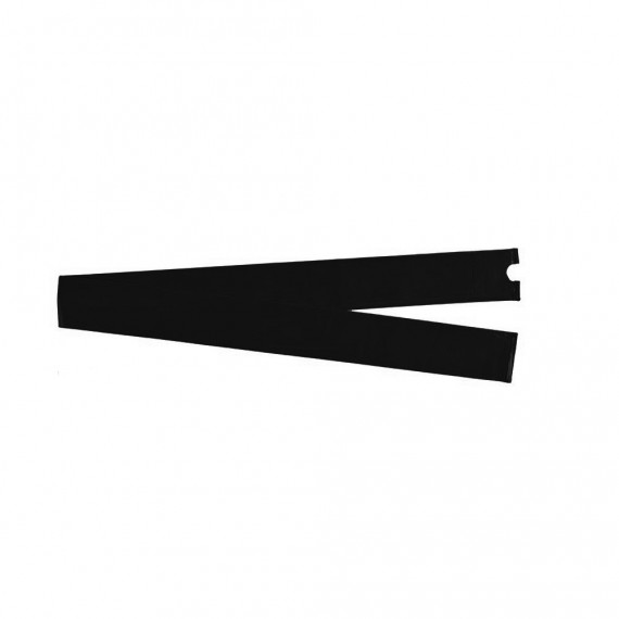 Manguito negro Ø38 mm para red con arcos en fibra de vidrio