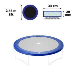 Cojín de protección azul Ø 244