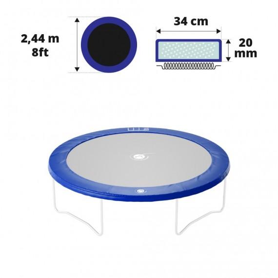 Cojín de protección azul Ø244