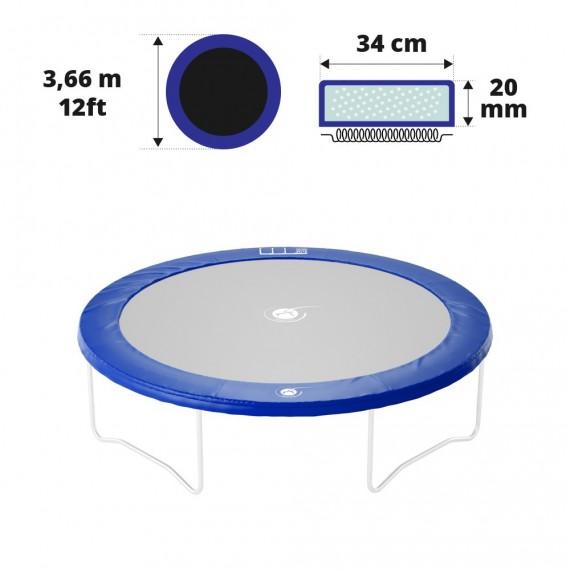 Cojín de protección azul 360 20 mm / 34 cm