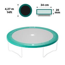 Cojín de protección 430 verde 20mm / 36cm