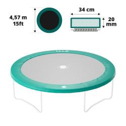 Cojín de protección 460 verde 20mm / 36cm