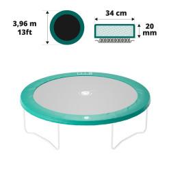 Cojín de protección 390 verde 20mm / 36cm