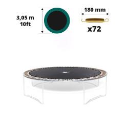Tela de salto para cama elástica Ø 305 con 72 muelles 180 mm