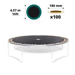 Tela de salto para cama elástica Ø 457 con 100 muelles 180 mm