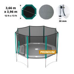 Red de protección para cama elástica Waouuh 390