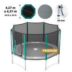 Red de protección para cama elástica Waouuh 460