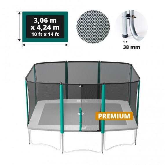 Red de protección para cama elástica Apollo Sport 400