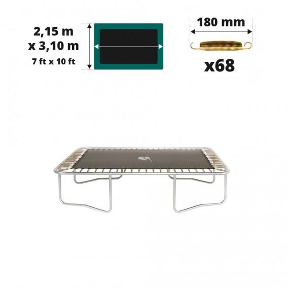 Tela de salto para cama elástica Apollo Sport 300 para 68 muelles 180 mm