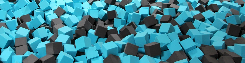 Cubes résistant feu