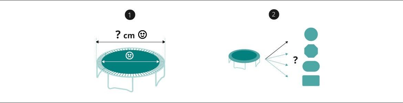 Arco de Fibra de Vidrio Cama Elástica