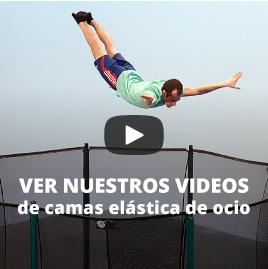 Ver nuestros videos de camas elástica de ocio