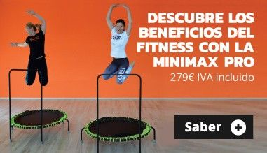Descubre los beneficios del fitness con la Minimax Pro!
