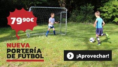 Nueva : Portería de fútbol