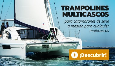 Trampolines multicascos