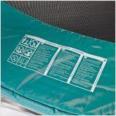 Verificar el cojin de proteccion de la cama elastica