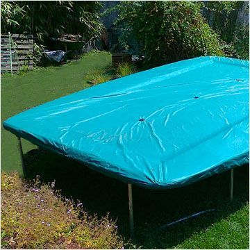 Funda protectora para cama elastica