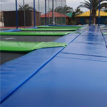 Coussin pour trampoline professionel Aéro